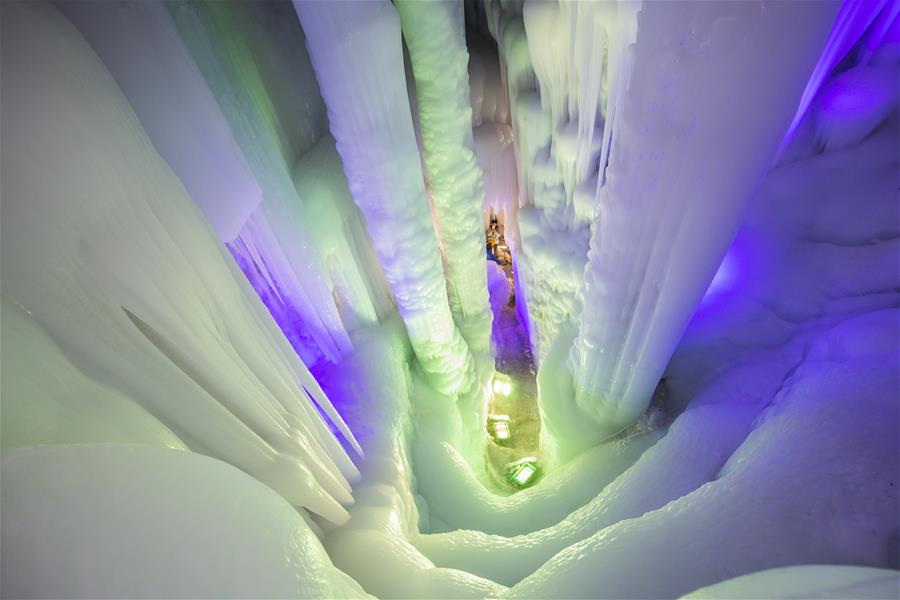 #CHINA-SHANXI-ICE CAVE-TOURISM (CN)