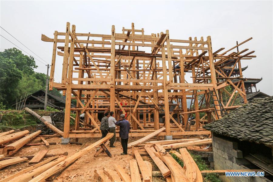 #CHINA-HUNAN-XIANGXI-STILTED BUILDING (CN)