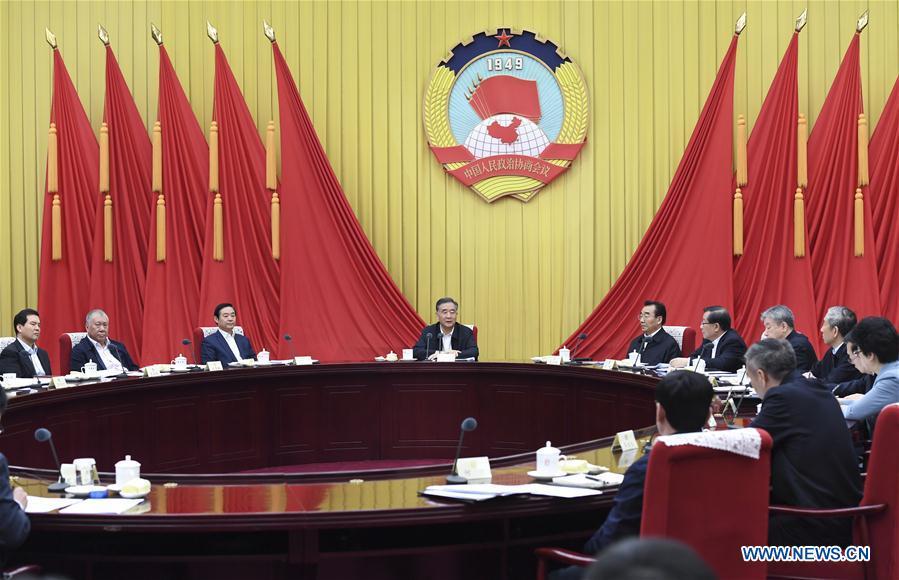 CHINA-BEIJING-WANG YANG-CPPCC-MEETING(CN)