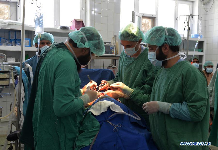 AFGHANISTAN-KANDAHAR-CHINA-BUILT HOSPITAL