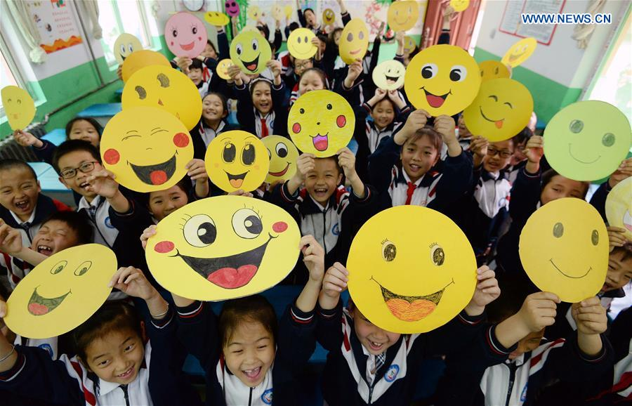 #CHINA-WORLD SMILE DAY-GREETING(CN)