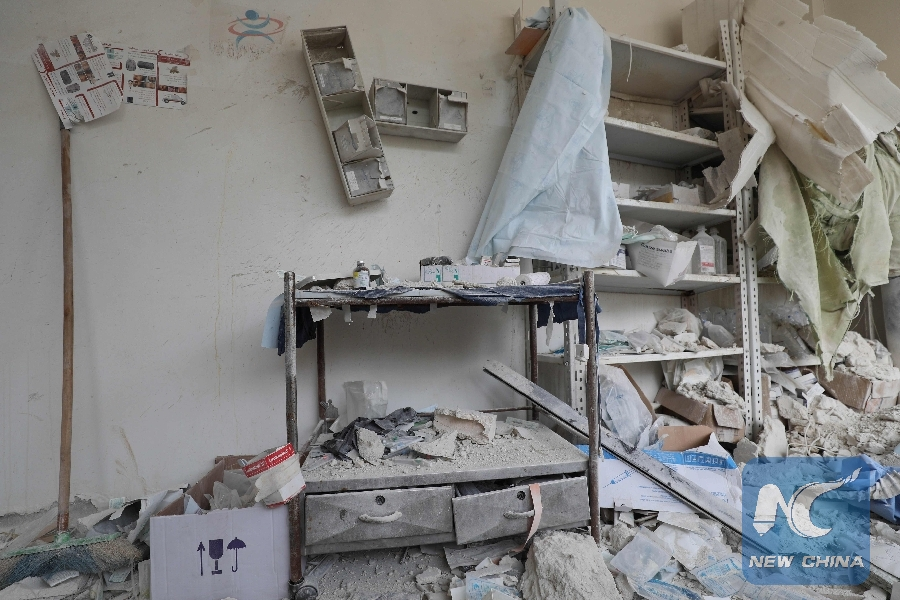 UN chief alarmed by reports of aerial attacks on population centers in Syria
