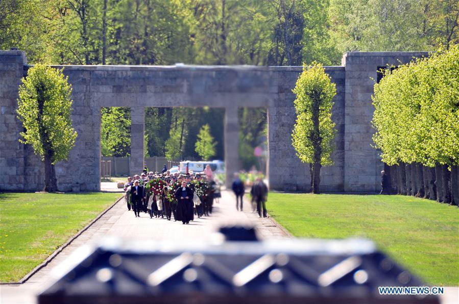拉脱维亚 - 里加 - 胜利在纳粹主义日