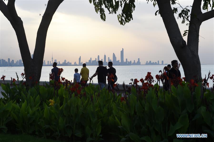 Daily life in Kuwait City, capital of Kuwait - Xinhua