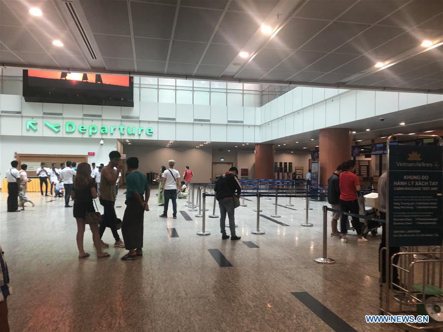 3 Chinese Nationals Injured After Bangladeshi Plane Skids Off Runway At Myanmar S Airport Xinhua English News Cn
