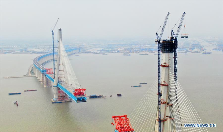 #CHINA-JIANGSU-NANTONG-BRIDGE-CONSTRUCTING(CN)