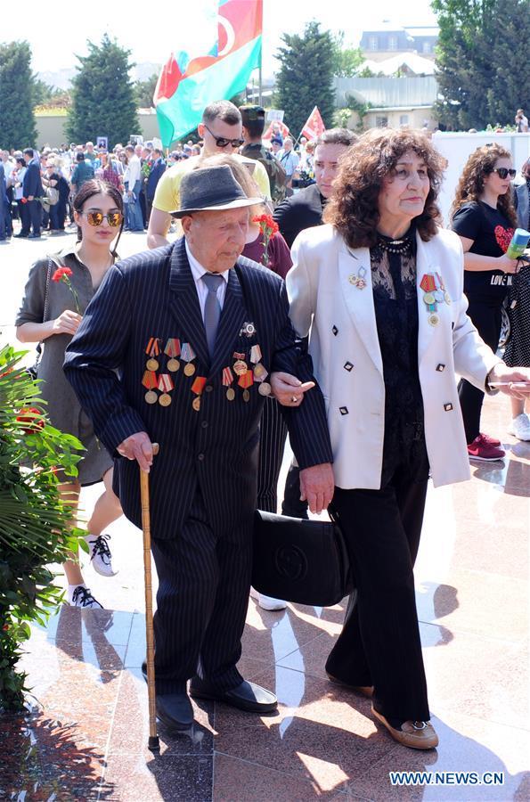 AZERBAIJAN-BAKU-VICTORY DAY-CEREMONY