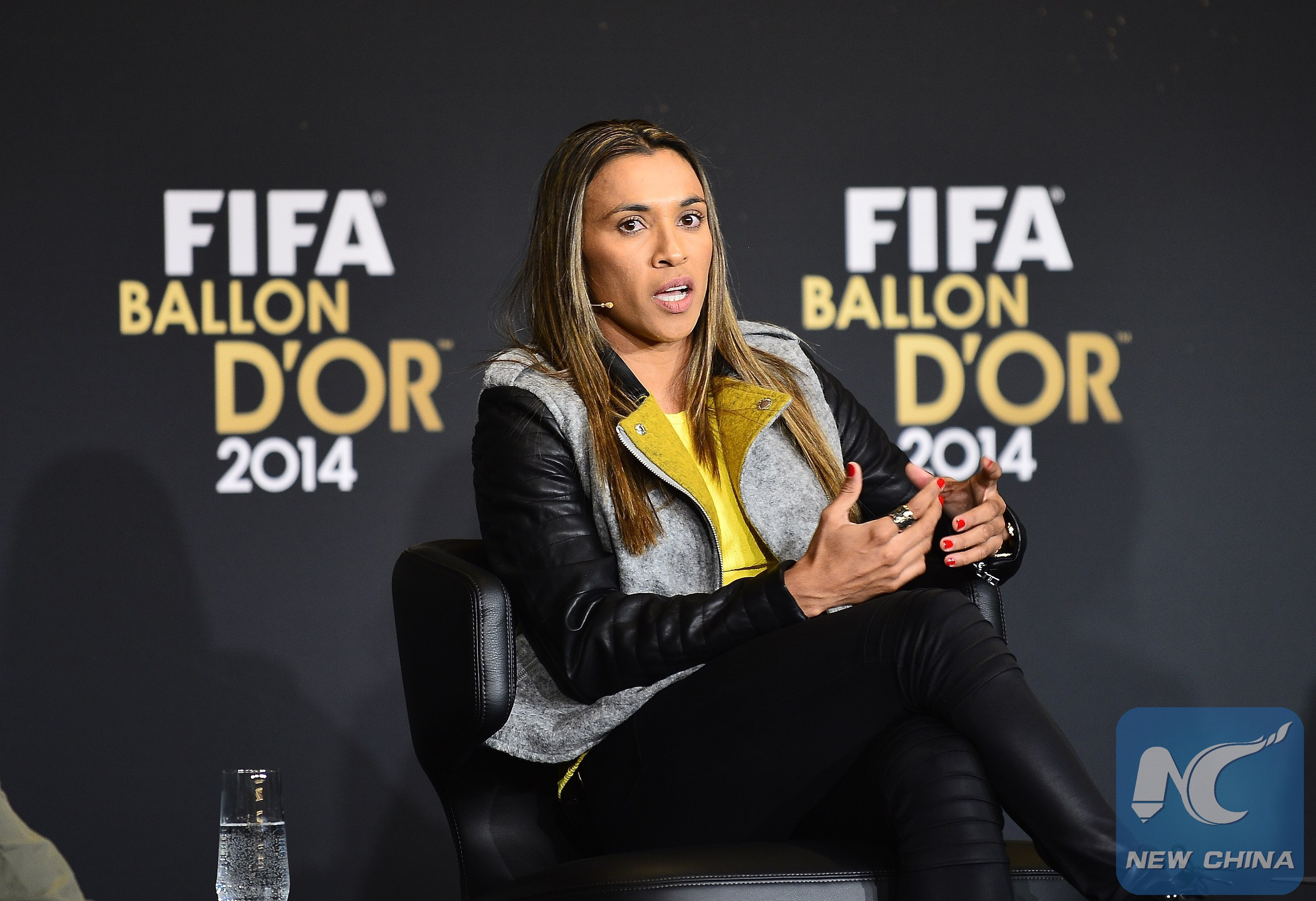 UN appoints Brazilian women's soccer legend Marta as SDG goals advocate