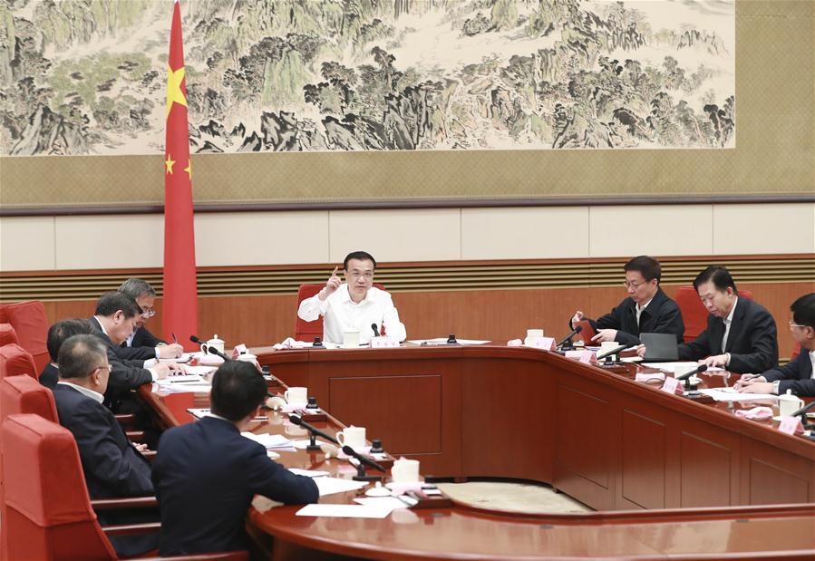 CHINA-BEIJING-LI KEQIANG-SYMPOSIUM ON TAX CUTS (CN)