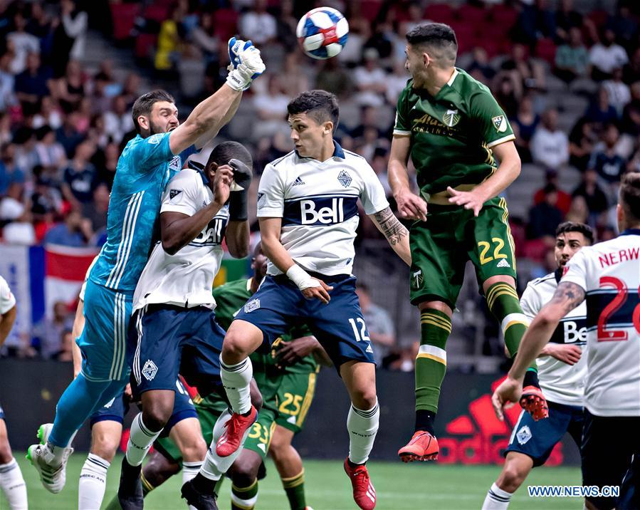 (SP)CANADA-VANCOUVER-MLS-VANCOUVER WHITECAPS与PORTLAND TIMBERS