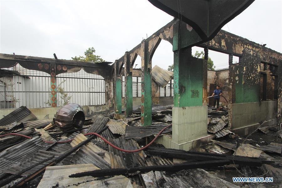 印尼廖内 - 监狱FIRE-AFTERMATH