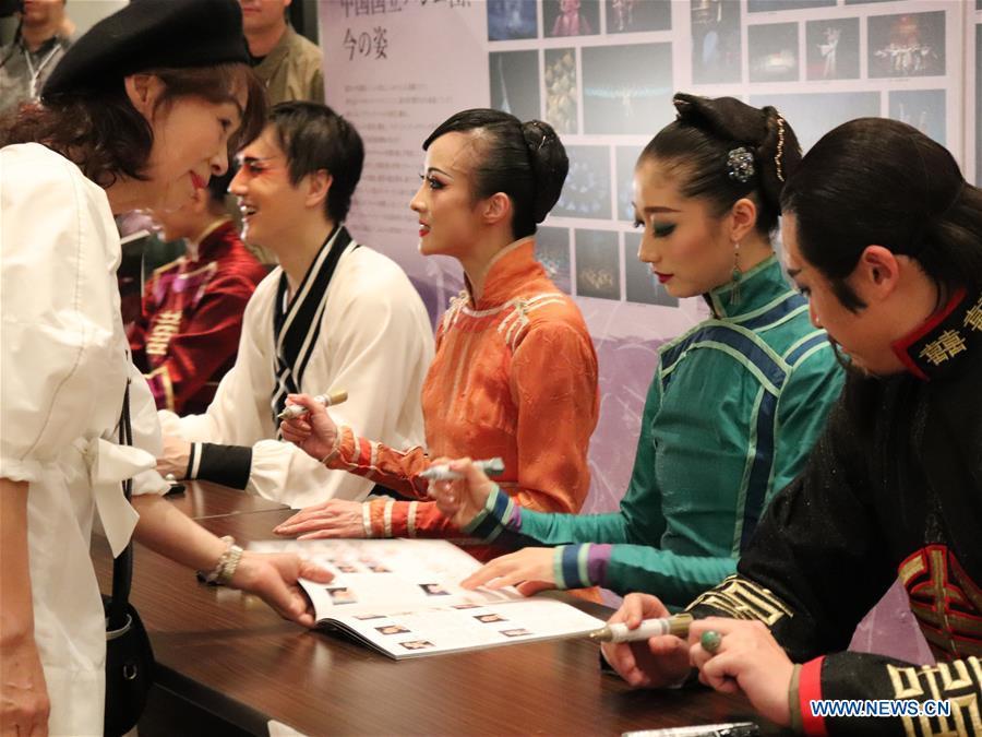 JAPAN-TOKYO-BALLET表演 - 中国舞蹈家