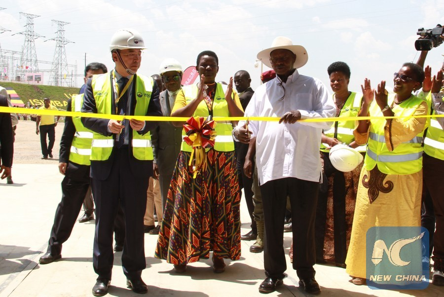 Uganda's PM highlights Chinese-built infrastructure projects as