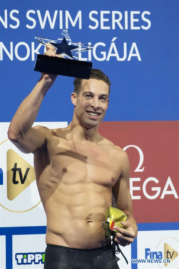 (SP)HUNGARY-BUDAPEST-FINA冠军系列 - 第2天