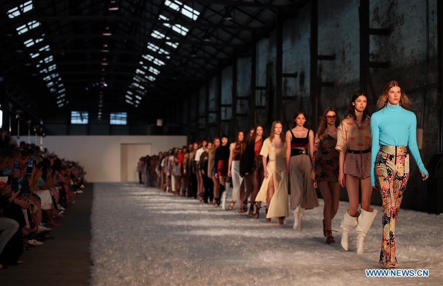 Fashion Week Australia hits runway, as major brands no-show - Xinhua