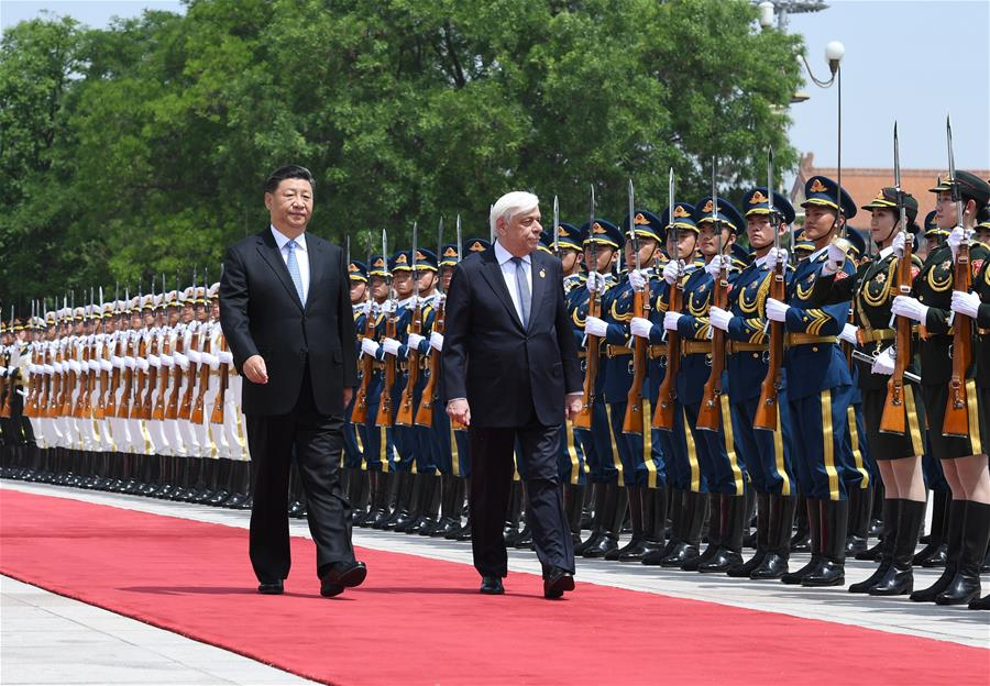 CHINA-BEIJING-XI JINPING-GREEK PRESIDENT-TALKS (CN)