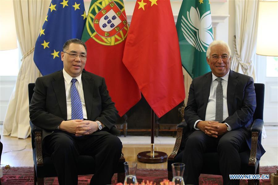 葡萄牙总理称赞澳门在加强葡中关系