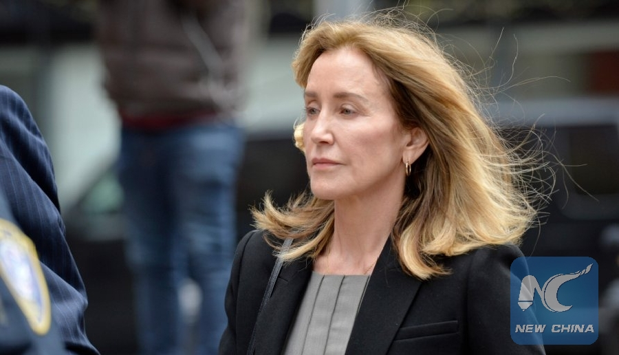 U.S. actress pleads guilty in college admissions scandal