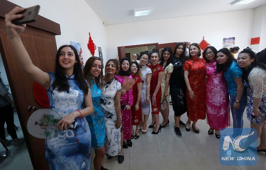 Feature: Lebanese university students show talents on Chinese Cultural Day