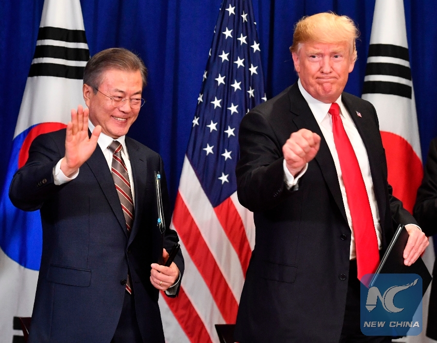 Trump To Visit S Korea In June White House Xinhua English News Cn