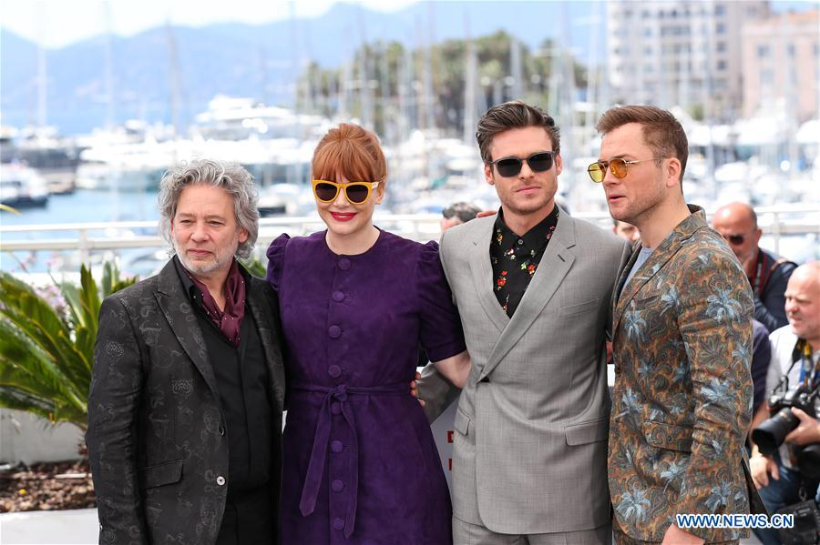 FRANCE-CANNES-FILM FESTIVAL-PHOTOCALL-ROCKETMAN