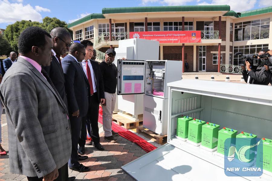 Huawei donates 98,000 USD ICT equipment to Zimbabwe's leading university