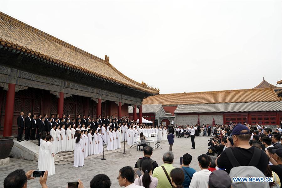 (InPalaceMuseum)CHINA-BEIJING-PALACE MUSEUM-INTERNATIONAL MUSEUM DAY (CN)