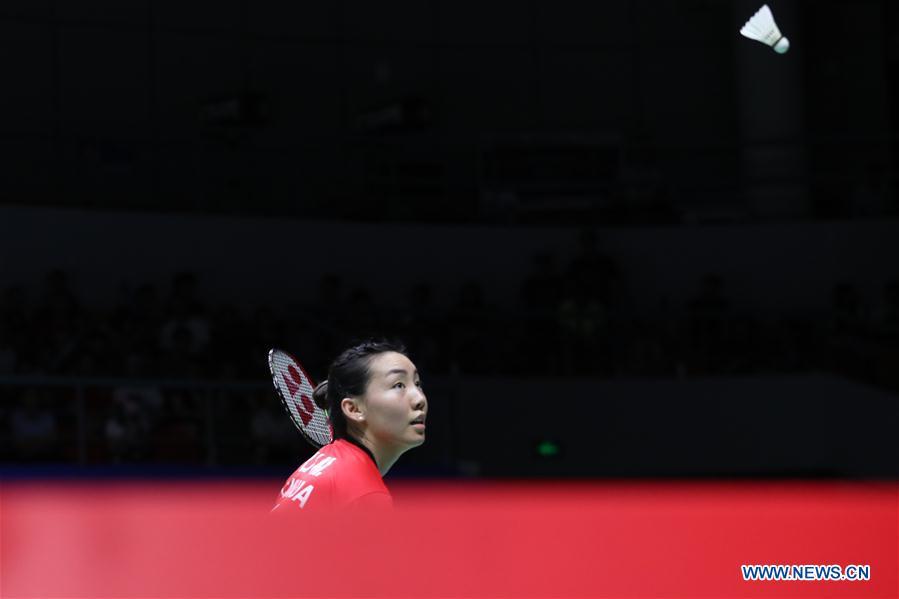 (SP)CHINA-NANNING-BADMINTON-TOTAL BWF SUDIRMAN CUP 2019