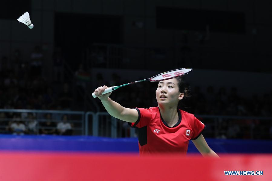(SP)CHINA-NANNING-BADMINTON-TOTAL BWF SUDIRMAN CUP 2019