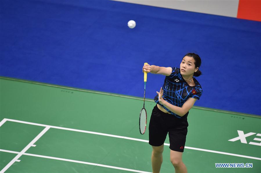 (SP)CHINA-NANNING-BADMINTON-TOTAL BWF SUDIRMAN CUP 2019 (CN)