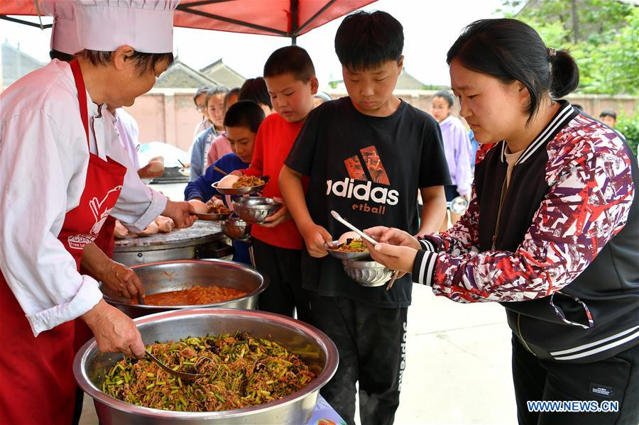 CHINA-SHANXI-DINGFAN PRIMARY SCHOOL-FREE LUNCH (CN)