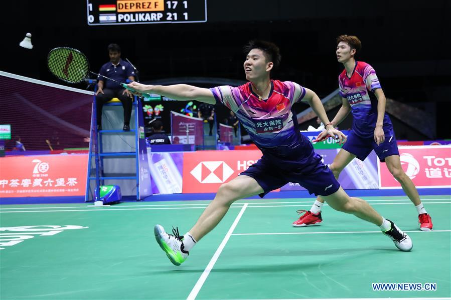 (SP)CHINA-NANNING-SUDIRMAN CUP-CHINA VS MALAYSIA (CN)