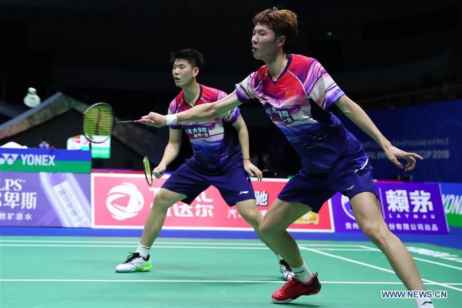 (SP)CHINA-NANNING-SUDIRMAN CUP-CHINA VS MALAYSIA (CN)