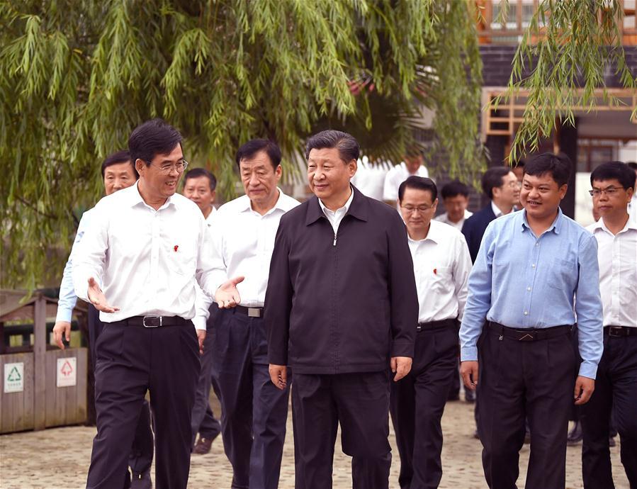 CHINA-JIANGXI-XI JINPING-OLD REVOLUTIONARY BASE (CN)