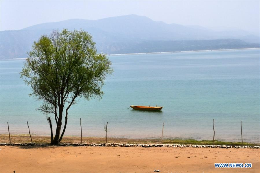CHINA-GANSU-YONGJING-YELLOW RIVER SCENERY (CN)
