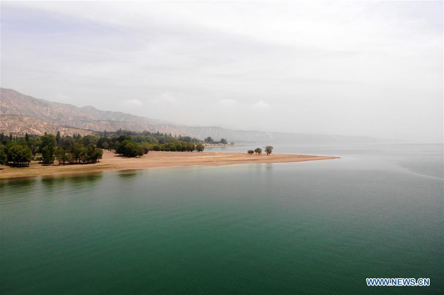CHINA-GANSU-YONGJING-YELLOW RIVER SCENERY (CN)