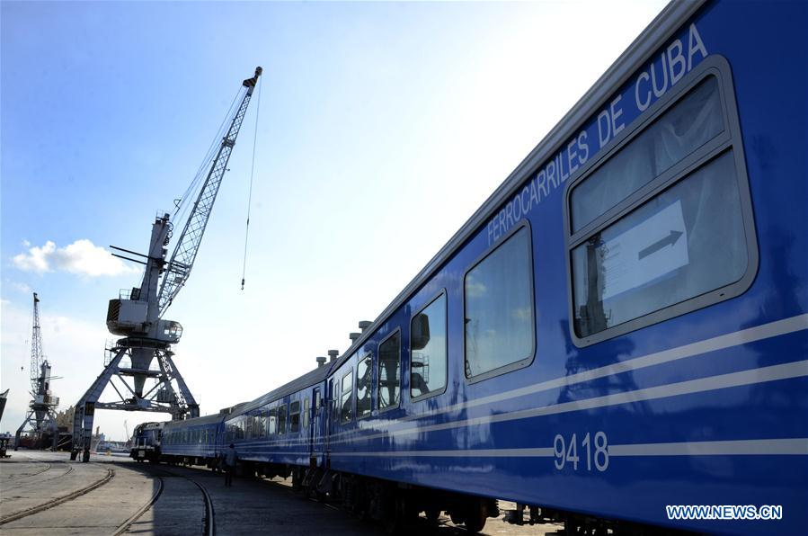 Feature: Cuba upgrades its railroad system with Chinese support - Xinhua | English.news.cn