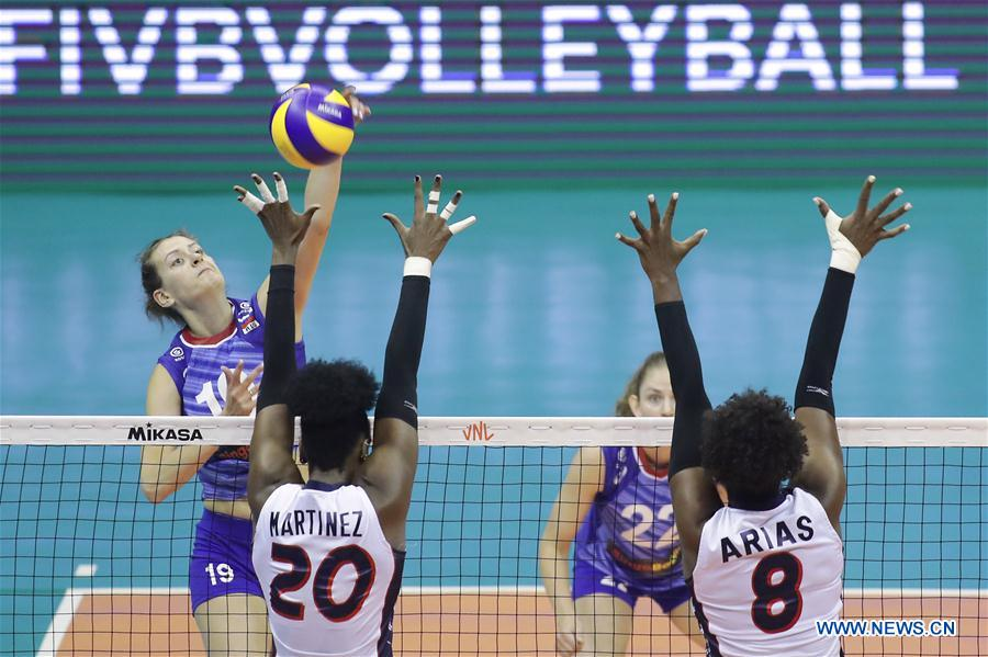 Dominican Republic beats Russia 3-1 at 2019 FIVB Volleyball Nations