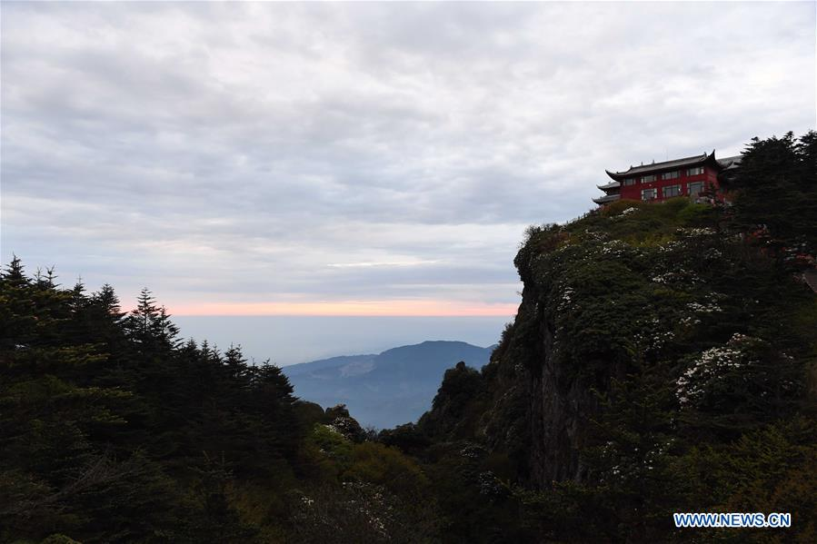 CHINA-SICHUAN-MOUNT EMEI-SCENERY (CN)