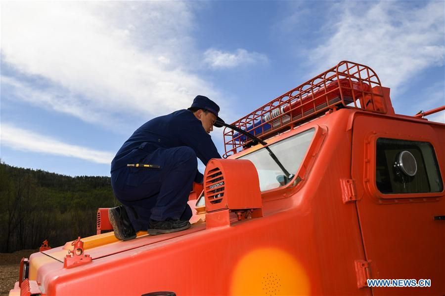 CHINA-INNER MONGOLIA-FOREST-FIREFIGHTERS (CN)