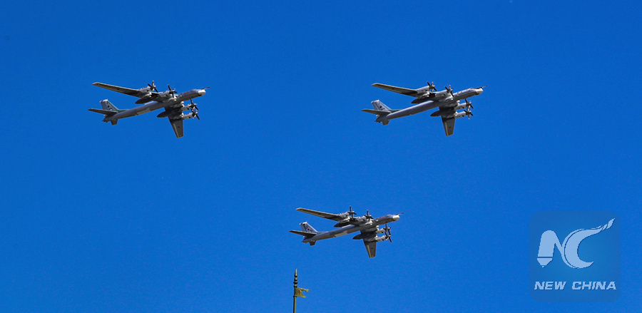U.S. fighters escort Russian strategic bombers over Arctic, Pacific oceans