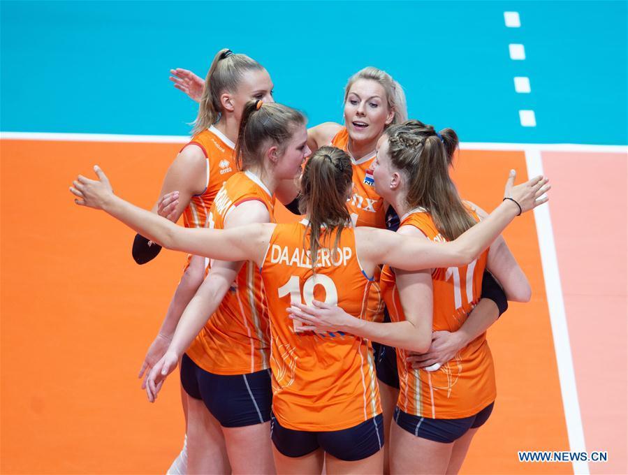 (SP)巴西 - 巴西利亚 - 排球国家联盟 - 荷兰VS韩国