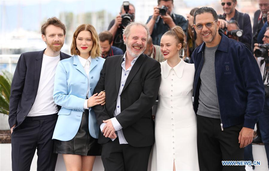 """FRANCE-CANNES-FILM FESTIVAL-PHOTOCALL-""""OH MERCY!"""""""