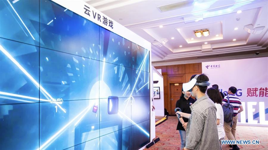 Xinhua Headlines: Huawei 5G unlocks potential of VR in China