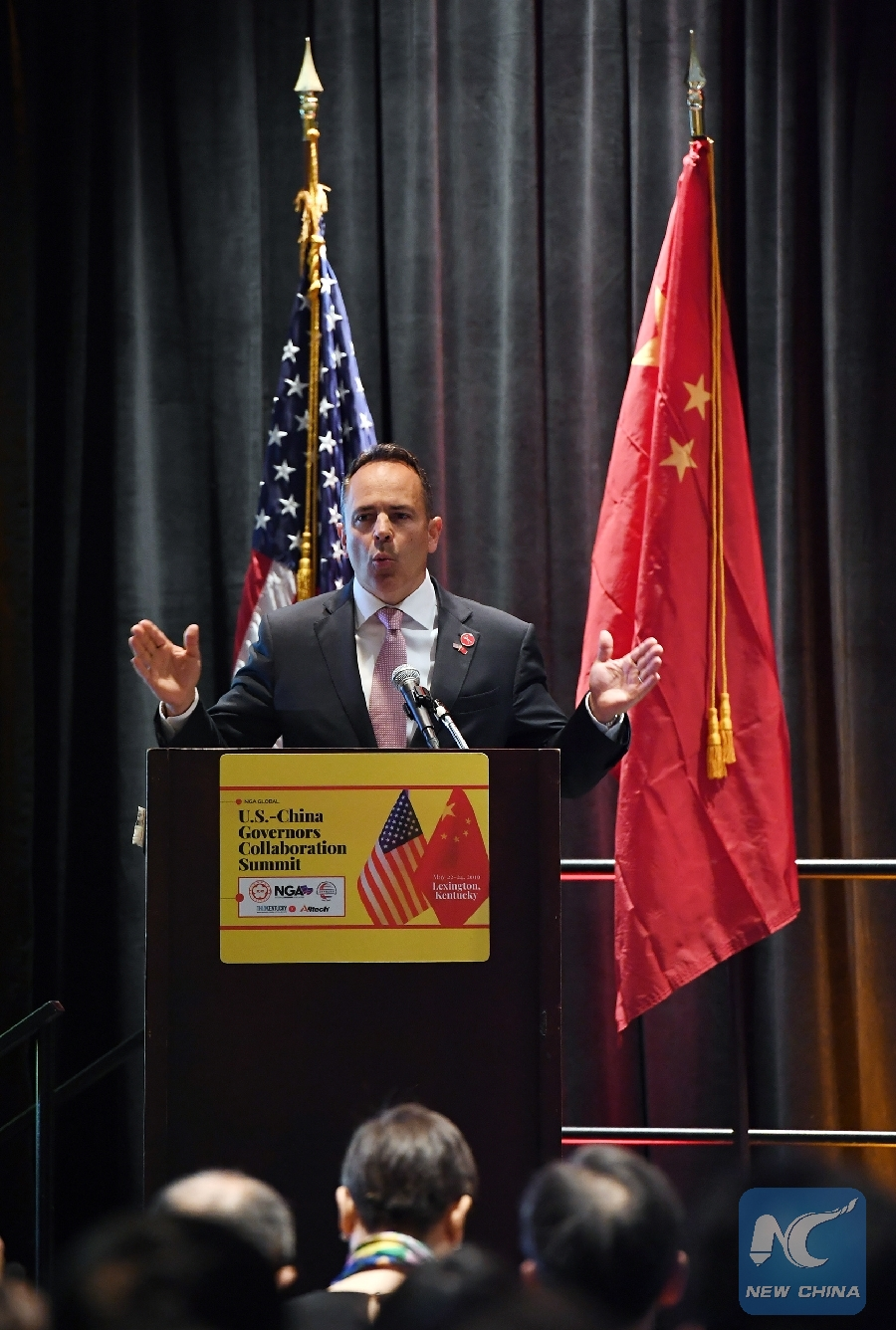 Chinese, U.S. governors gather to promote sub-national exchanges