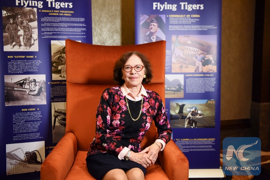 """Feature: """"Flying Tigers"""" families share golden memories, a relay of China-U.S. friendship"""