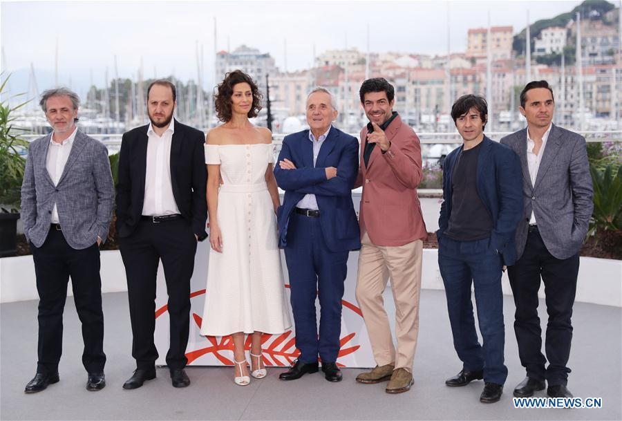"""FRANCE-CANNES-FILM FESTIVAL-PHOTOCALL-""""THE TRAITOR"""""""