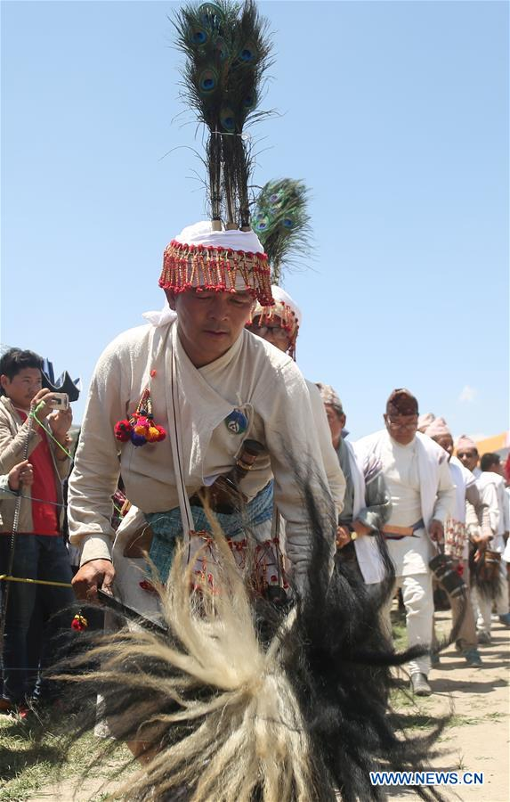 NEPAL-KATHMANDU-UBHAULI FESTIVAL