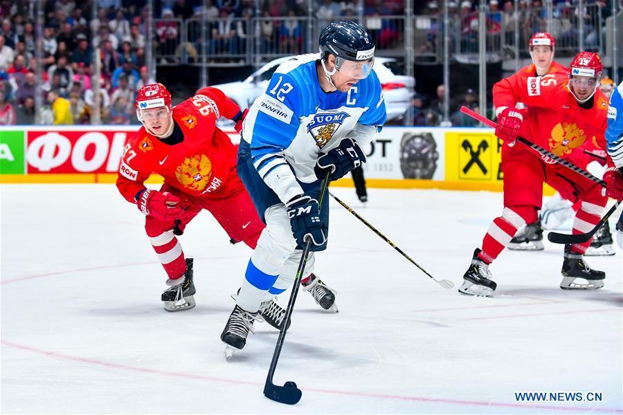 Highlights Of 2019 Iihf Ice Hockey World Championship Slovakia Semi Finals Xinhua English News Cn