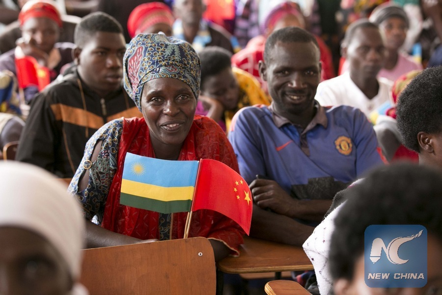 China-funded village television project handed over to Rwanda